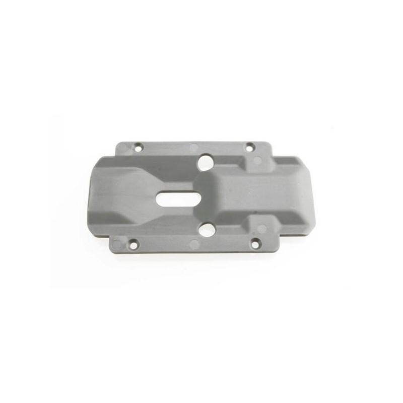 Skidplate, transmission, nylon (grey)