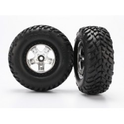 TIRES AND WHEELS SLASH 2WD...