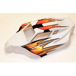 Spirit / X2 RTR pre-printed Orange / White