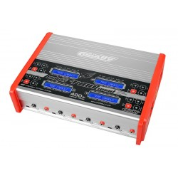 ECLIPS 4400 QUAD CHARGER AC/DC 400W 1-6S