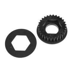 COMPOSITE PULLEY 28T SSX-8R