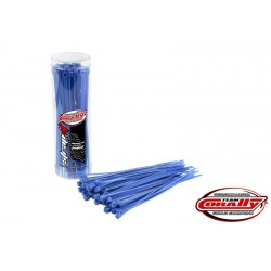 CABLE TIE RAPS - BLUE (50PCS)