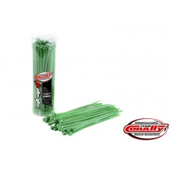 CABLE TIE RAPS - GREEN (50PCS)