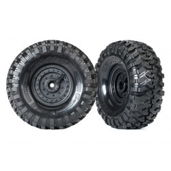 TRAXXAS 8273 TIRES AND WHEELS TACTICAL UNIT