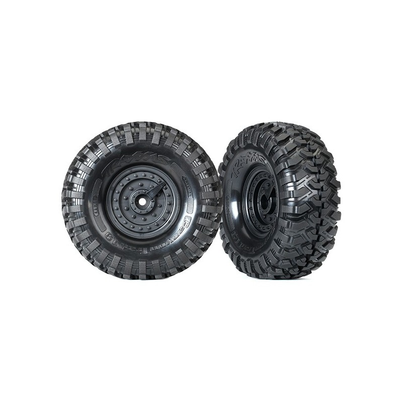 "GOMME E CERCHI TACTICAL (CANYON TRIAL 1.9"")- (2)"