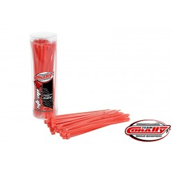 CABLE TIE RAPS - RED (50PCS)