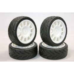 500 ABARTH TIRE SET +...