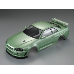 NISSAN SKYLINE METALLIC GREEN PAINTED BODY
