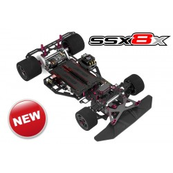 CORALLY SSX-8X ELECTRIC CAR KIT ON-ROAD 1:8 4WD
