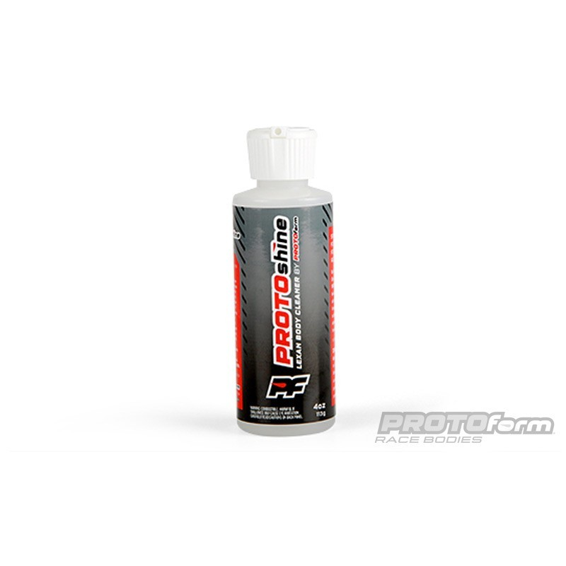PROTOSHINE LEXAN BODY CLEANER - 4 OZ