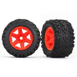 TALON TIRES AND WHEELS ORANGE FOR 17MM HEX