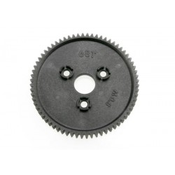 Spur gear, 68-tooth (0.8 metric pitch, compatible