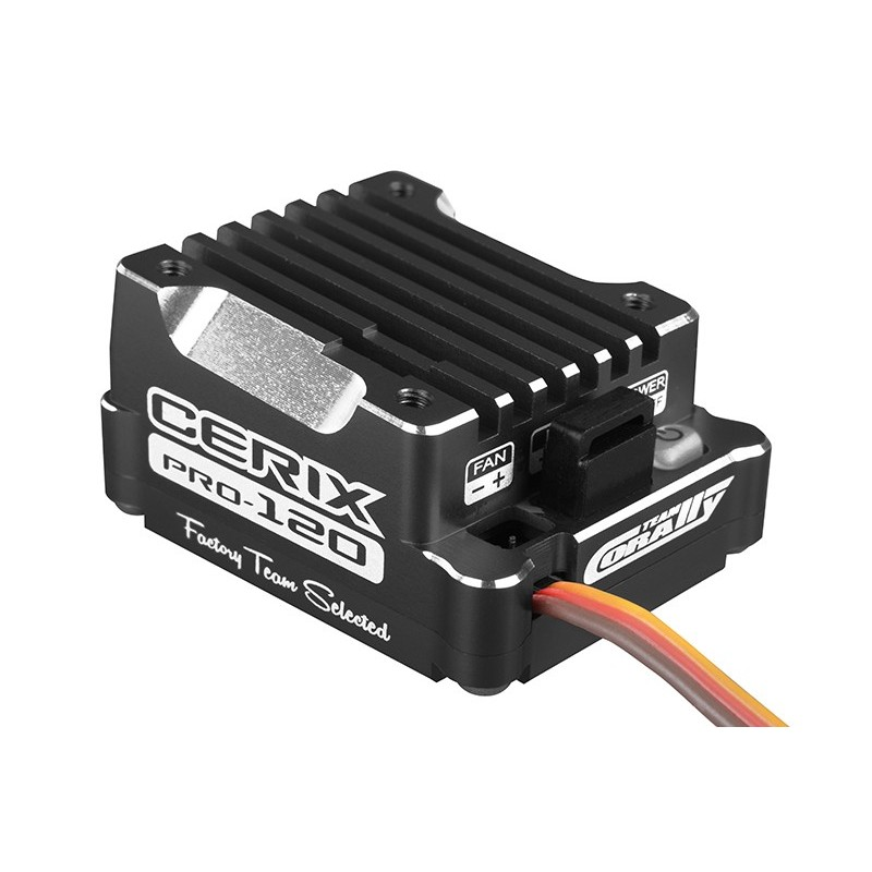 CERIX PRO BRUSHLESS 2-3S - 120 AMP - BLACK EDITION