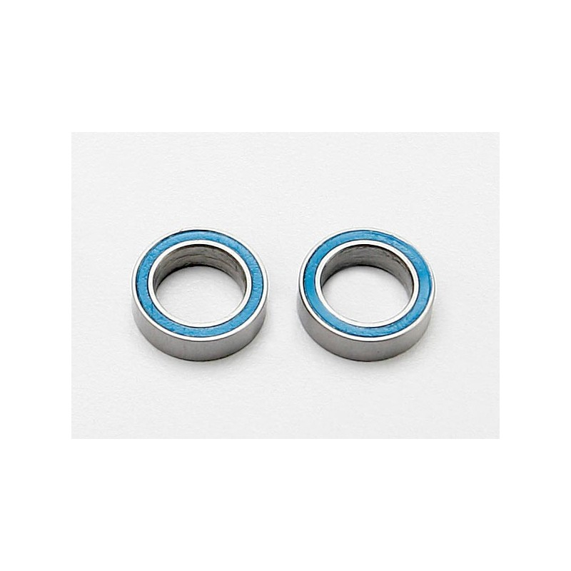 Ball bearings,blue rubber sealed(8x12x3.5mm)(2)