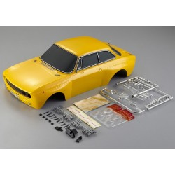 ALFA GTAM PAINTED YELLOW BODY 1:10 ELECTRIC