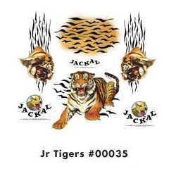 DECALS TIGERS JUNIOR
