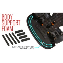 BODY SUPPORT FOAM FOR LEXAN BODIES