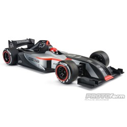F26 CLEAR BODY FOR 1:10 FORMULA