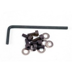 Screws, 3x8mm cap-head...