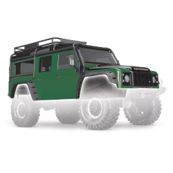 LAND ROVER DEFENDER BODY GREEN PAINTED & COMPLETE