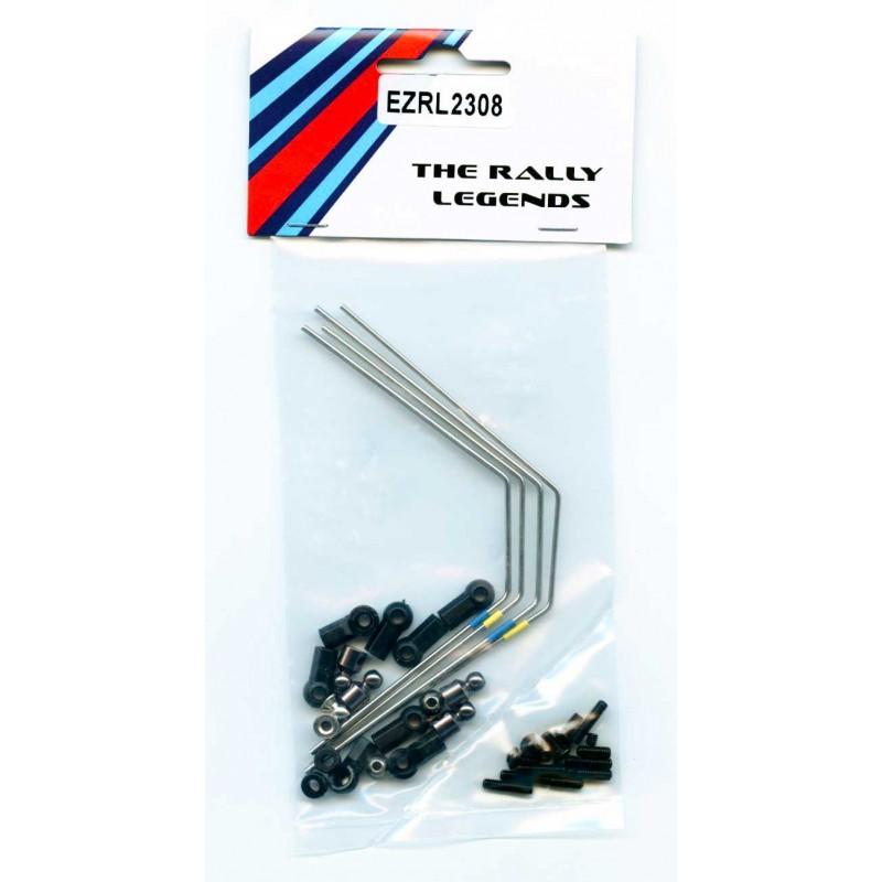 Sway Bars kit (1.4/1.6mm)