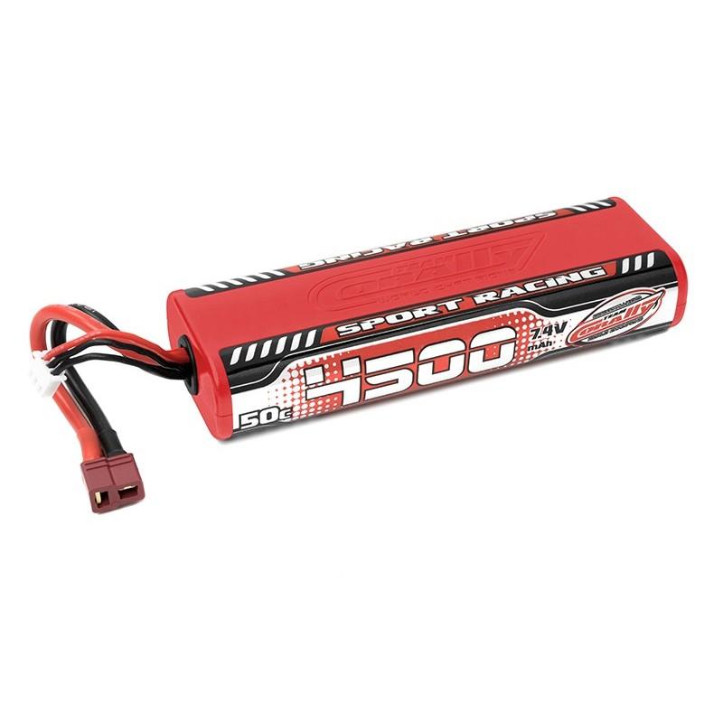 4500 STICK LIPO PACK 7,4V 2S 50C