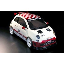 500 ABARTH ASSETTO CORSE ARTR (PAINTED BODY)