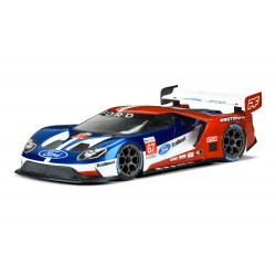 FORD GT LIGHT WEIGHT IN LEXAN TRASPARENTE