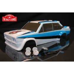 Fiat 131 rally body - WRC painted with decals Cod  EZRL2332