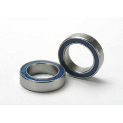 Ball bearings, blue rubber sealed (10x15x4mm) (2)