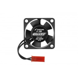 ULTRA HIGH-SPEED COOLING FAN 30MM - 6V-8,4V