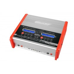 ECLIPS 2400 DUO CHARGER AC/DC 400W 1-6S