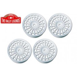 Delta type white spokes Rim...