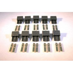 HV MALE PLUGS 10 PCS