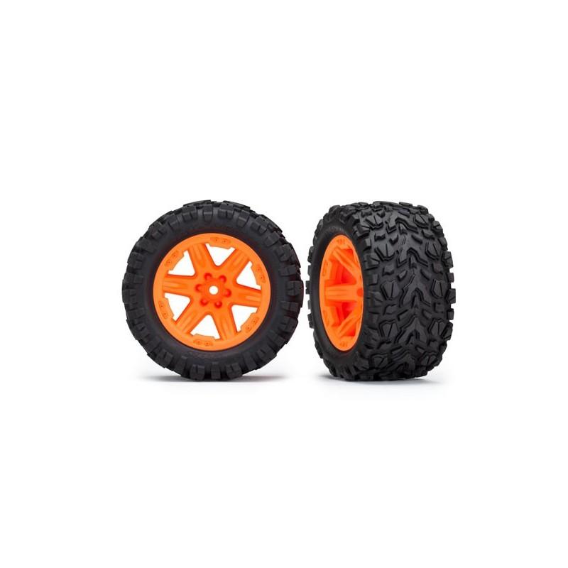 Gomme Talon su cerchi arancio