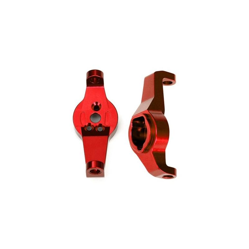 Caster blocks alluminio rosso