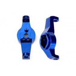 Caster blocks alluminio blu