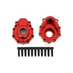 Scatola portali esterni alluminio rosso
