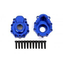 Scatola portali esterni alluminio blu
