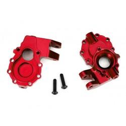 Scatole portali int. ant. DX+SX alluminio rosso