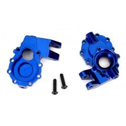 Scatole portali interni ant. dx+sx alluminio blu