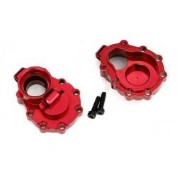 Scatole portali interne post.alluminio rosso