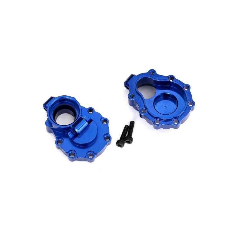 Scatole portali interni post. alluminio blu