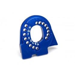 Piastra supporto motore TRX4 alluminio blu