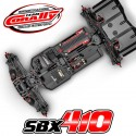 Team Corally SBX-410 Racing Kit Buggy 1:10 4wd da competizione