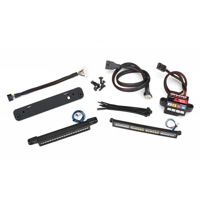 Kit completo Luci Led Xmaxx (incluso power amplifier 6590)