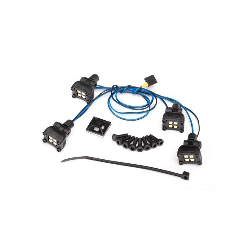Kit luci led per portapacchi 8120 (richiede centralina 8028)