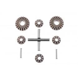 Ingranaggi in acciaio differenziale (1 set)