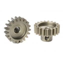 Pignone Modulo 1 in acciaio indurito - 19T - foro 5mm