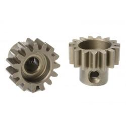 Pignone Modulo 1 in acciaio indurito - 15T - foro 5mm